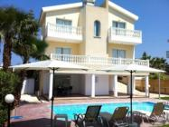 Villa Diamond-5 is a beach holiday villa for rent in Chlorakas,Paphos Cyprus. This in-resort villa offers 4 bedrooms (sleeps 9) and has a private pool.